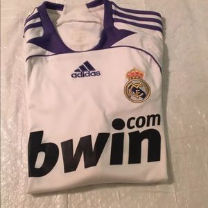 2007/2008 Adidas Real Madrid jersey size M